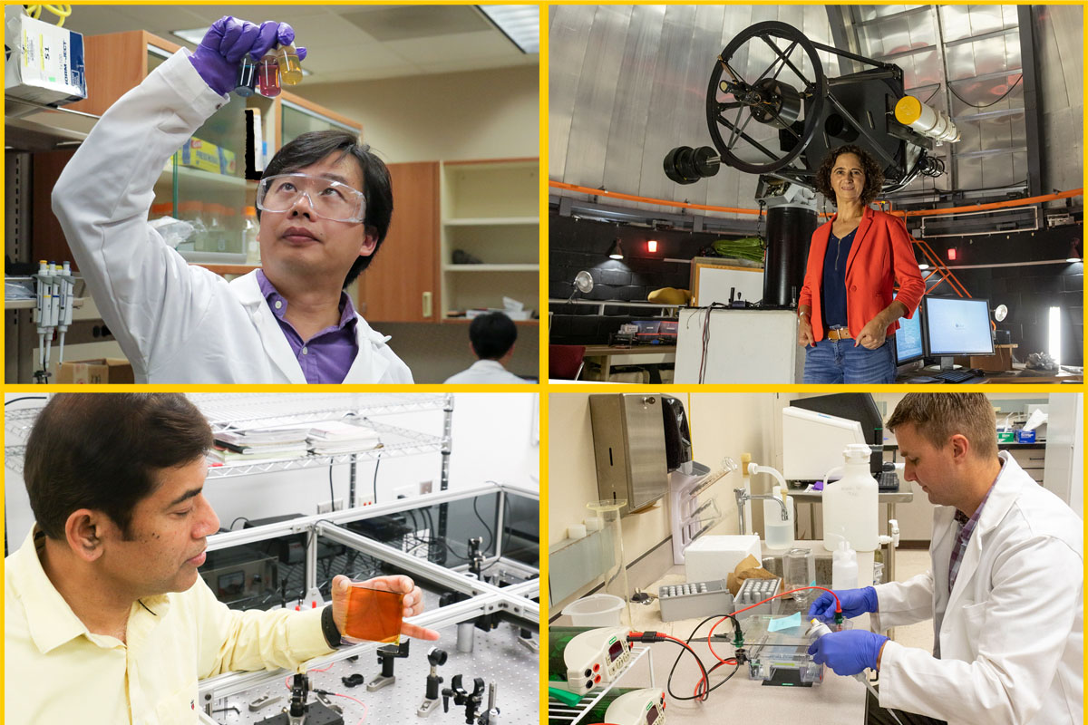 Collage of UCF Researchers