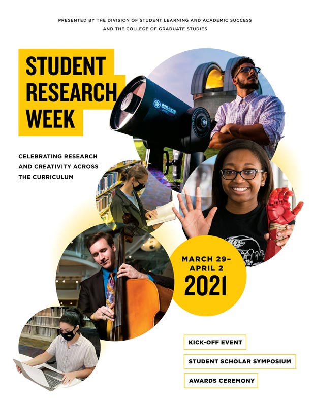 Student Research Week Program Cover